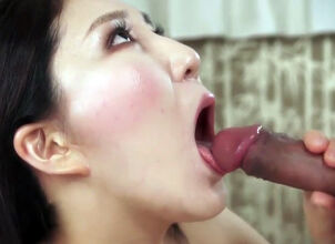 Girlfriend slow blowjob