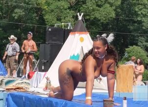 Nude native american girl